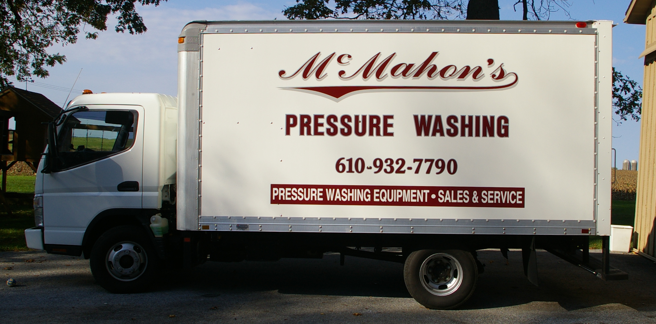 McMahon's Mobile Pressure Washing